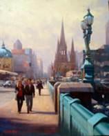 Princes Bridge, Melbourne by Glenn Hoyle