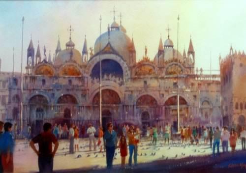 St. Marks Venice by Glenn Hoyle